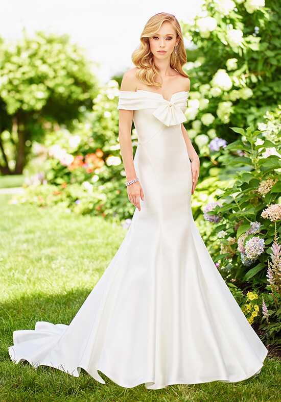 Off the shoulder wedding dresses enchanting by mon cheri junglespirit Gallery