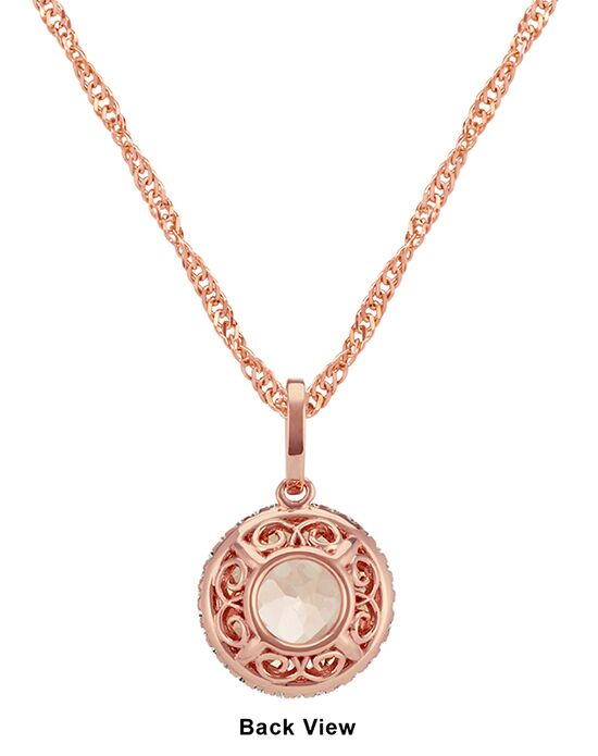 shane company jewelry shane co morganite pendant in 14k gold wedding 8489