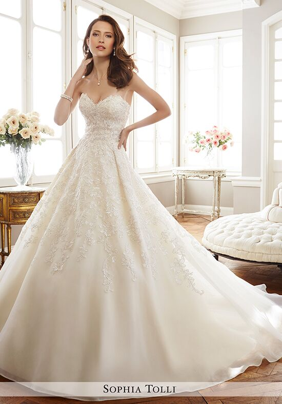 Sophia Tolli Y11713 Allaire Ball Gown Wedding Dress