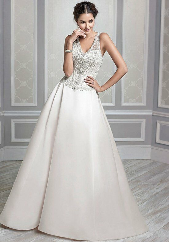Kenneth Winston 1588 Ball Gown Wedding Dress