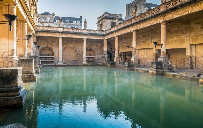 The Roman Baths. Stall St, Bath BA1 1LZ, UK