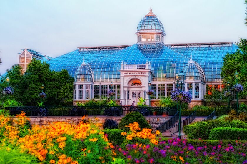 Franklin Park Conservatory And Botanical Gardens. 1777 E Broad St, Columbus,  OH 43203, USA
