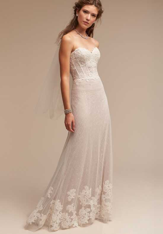 BHLDN Lorena Sheath Wedding Dress