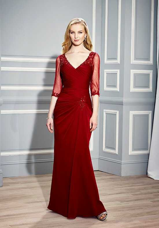 Val Stefani Celebrations MB7444 Red Mother Of The Bride Dress