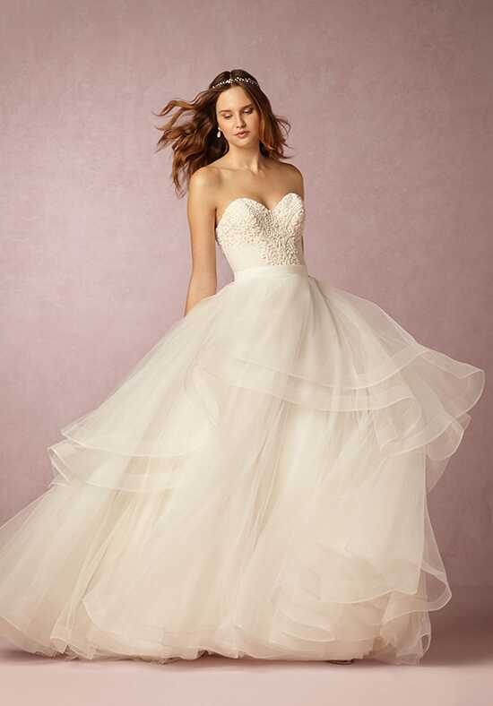 BHLDN Tisha Corset & Almira Skirt Ball Gown Wedding Dress