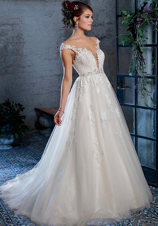 Amaré Couture C134 Gabriela Ball Gown Wedding Dress