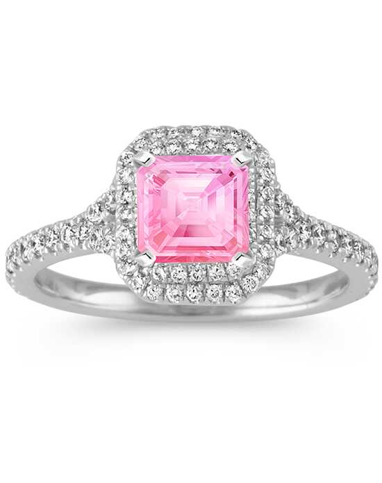 Shane Co. Glamorous Emerald Cut Engagement Ring