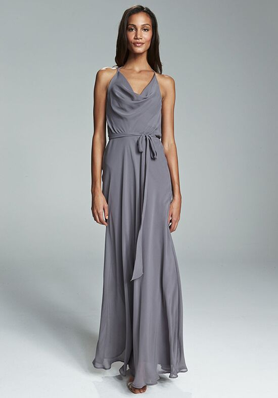 Nouvelle Amsale Bridesmaids Alyssa Halter Bridesmaid Dress