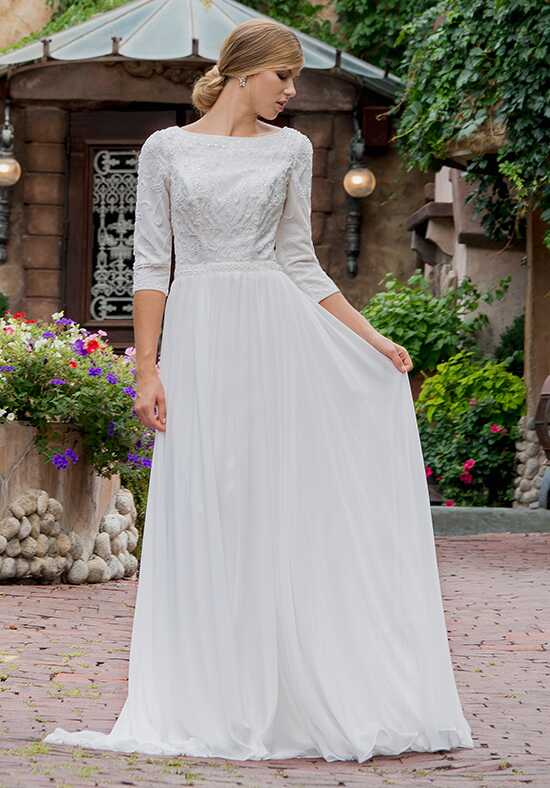Modest by Mon Cheri TR11839 A-Line Wedding Dress