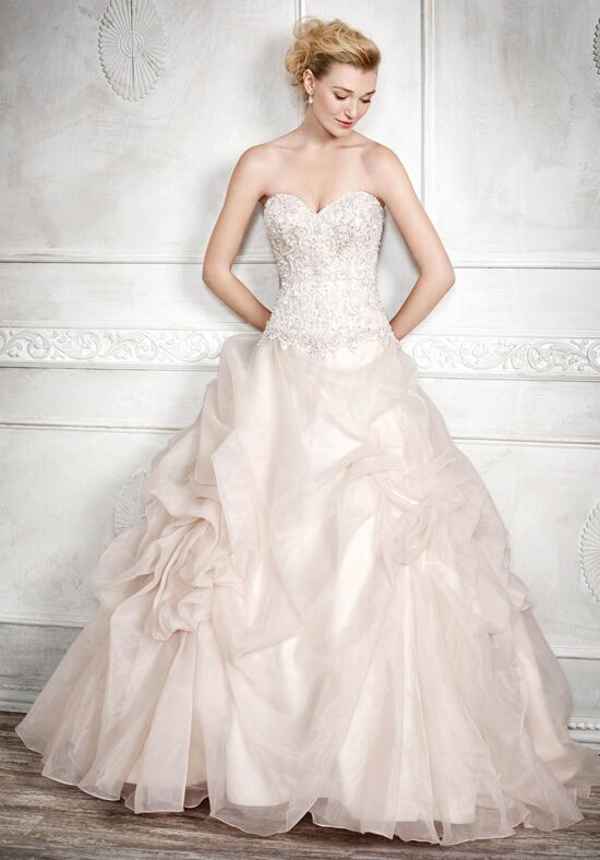 Kenneth Winston 1680 Ball Gown Wedding Dress