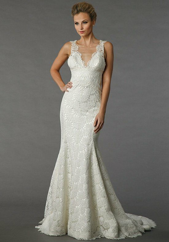 Pnina tornai for kleinfeld 4338 wedding dress the knot for Pnina tornai wedding dresses prices