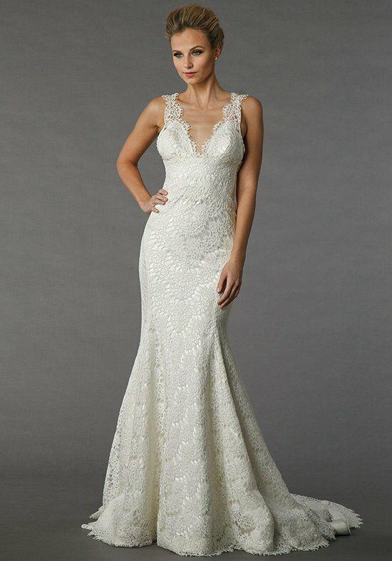Pnina tornai for kleinfeld 4338 wedding dress the knot for Pnina tornai wedding dresses prices