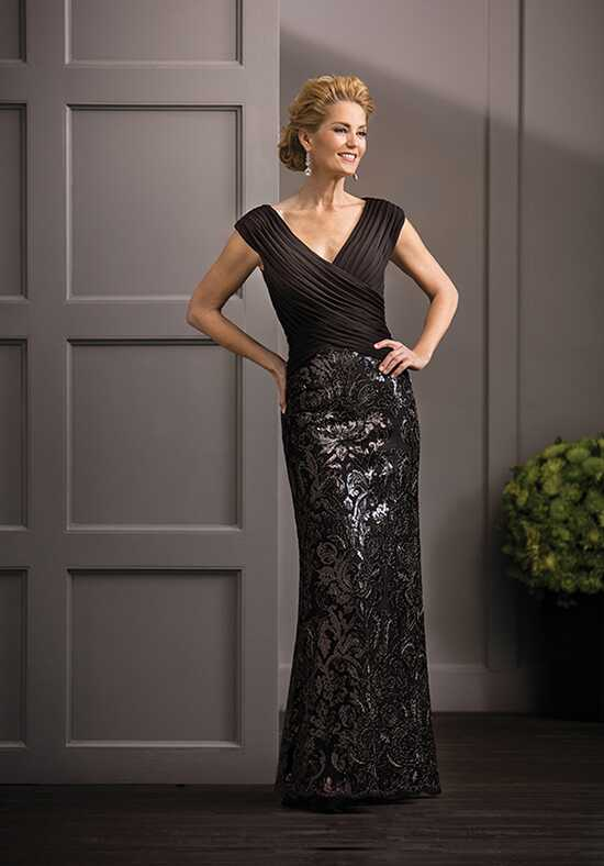Jade Couture K188064 Black Mother Of The Bride Dress