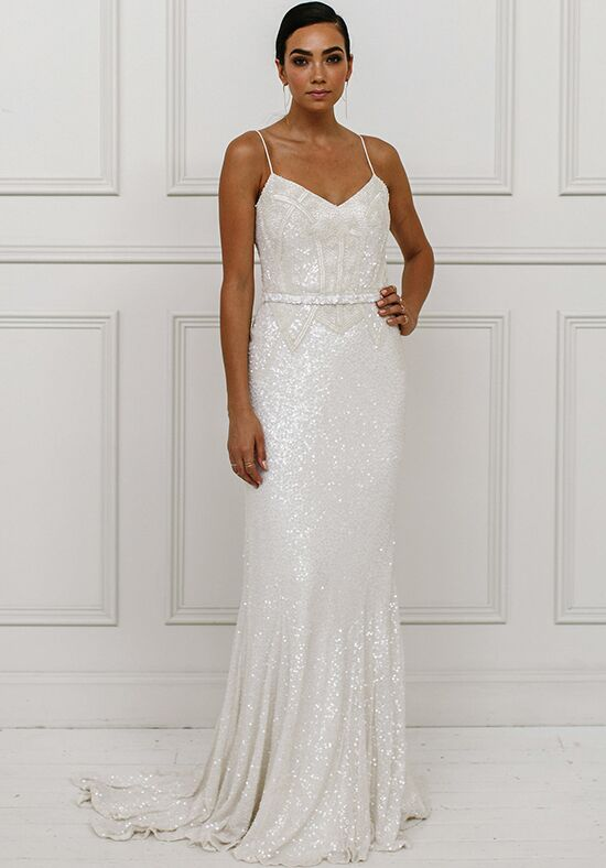 KAREN WILLIS HOLMES Addison Mermaid Wedding Dress