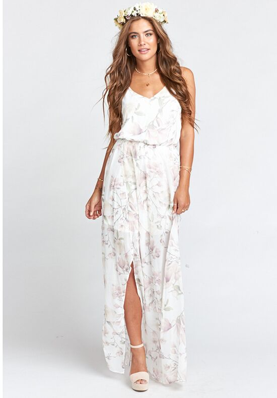 Show Me Your Mumu Kendall Maxi Dress - Forever Vine V-Neck Bridesmaid Dress