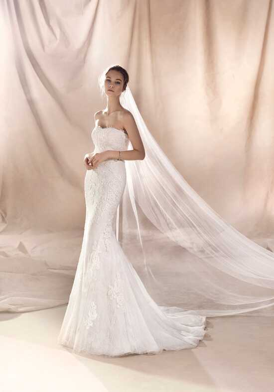 WHITE ONE SELENE Mermaid Wedding Dress
