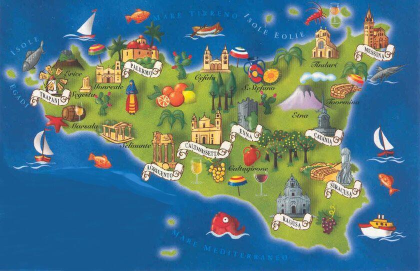noleggio tovaglie matrimonio catania italy map - photo#9