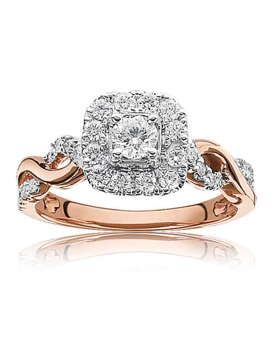 Rogers & Hollands® Glamorous Princess, Round Cut Engagement Ring