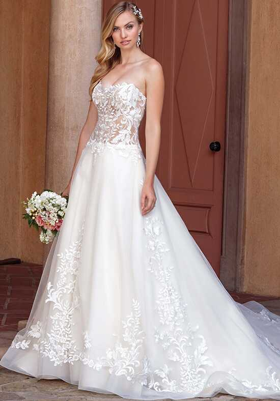 Casablanca Bridal 2311 Tegan Ball Gown Wedding Dress