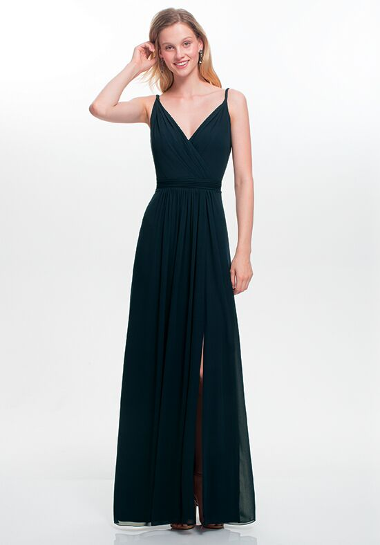 #LEVKOFF 7021 V-Neck Bridesmaid Dress