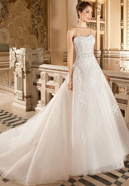 Demetrios 1496 Wedding Dress