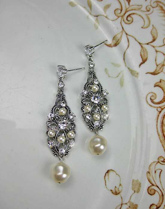 Everything Angelic Claudia Earrings - e334 Wedding Earring photo