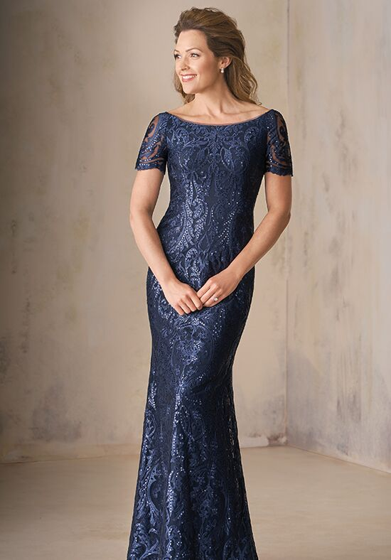 Jade Couture VK208009 Blue Mother Of The Bride Dress