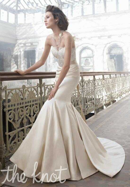 Lazaro 3207 Mermaid Wedding Dress