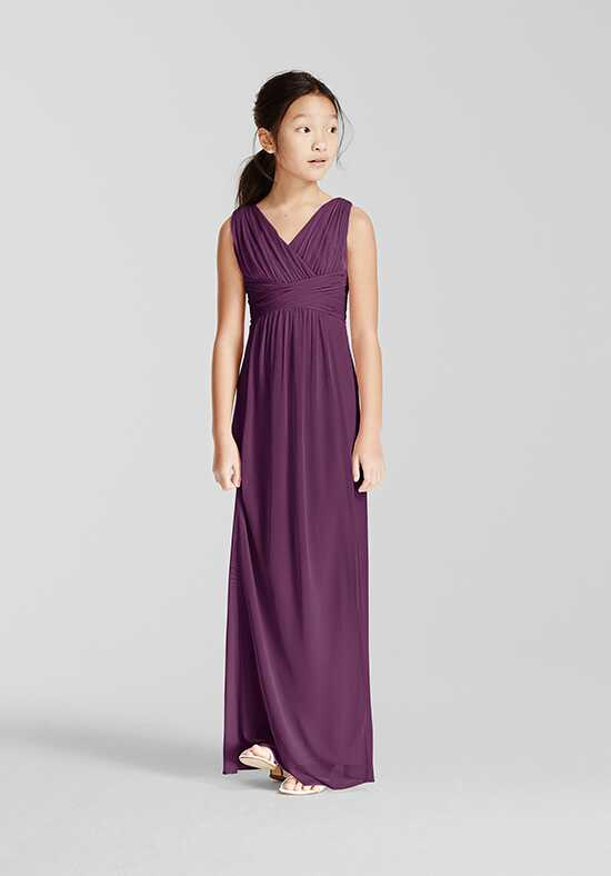 David's Bridal Junior Bridesmaids David's Bridal StyleJB5728 V-Neck Bridesmaid Dress
