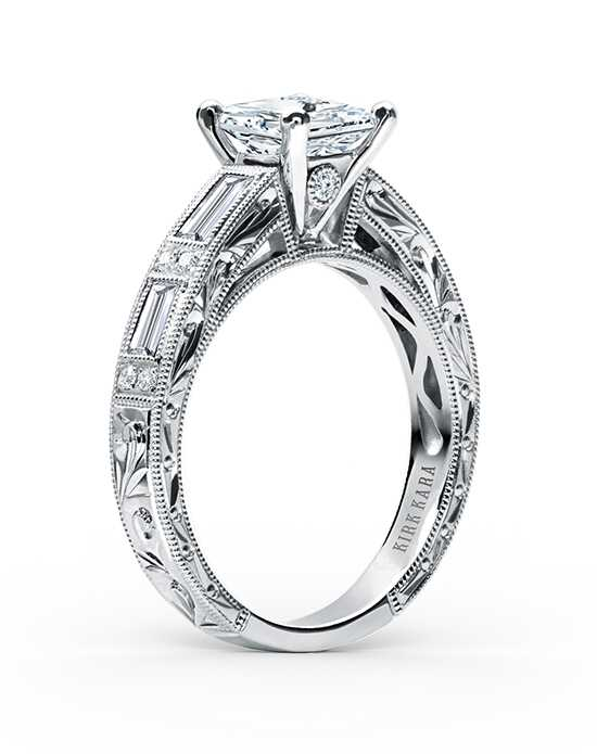 Kirk Kara Charlotte Collection SS6685D-R Engagement Ring photo