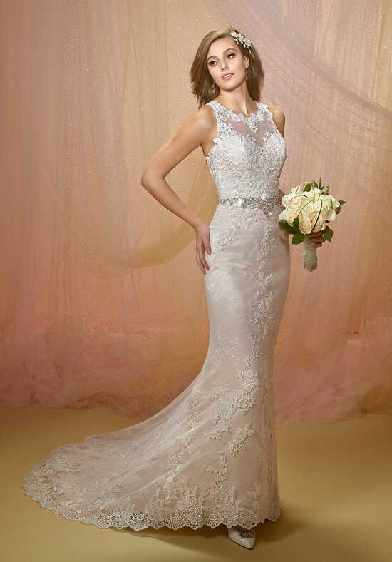 1 Wedding by Mary's Bridal 6496 Sheath Wedding Dress
