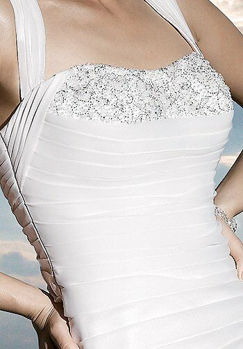 Demetrios 3177 Mermaid Wedding Dress