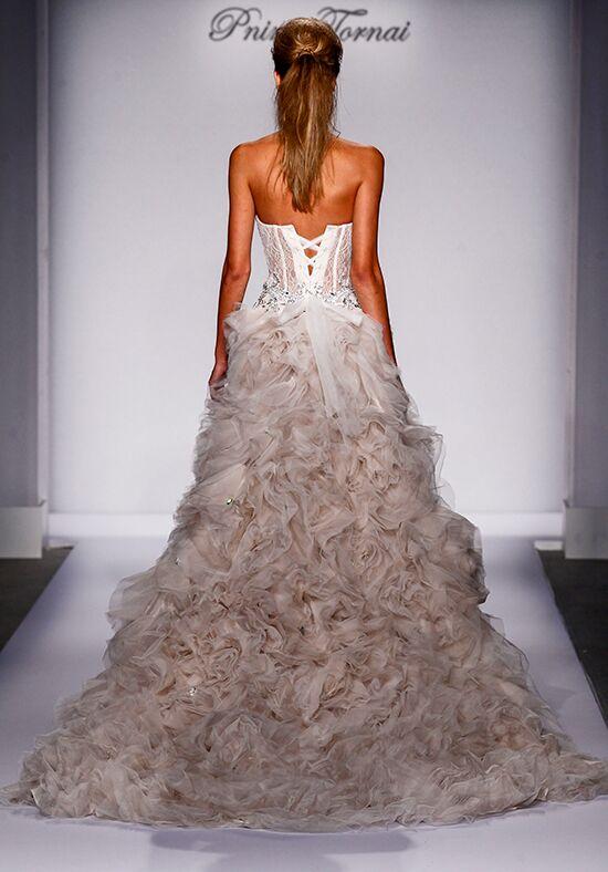 Pnina tornai for kleinfeld 4463 wedding dress the knot for Pnina tornai wedding dress cost