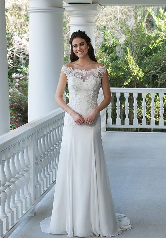 Sincerity Bridal 3950 A-Line Wedding Dress