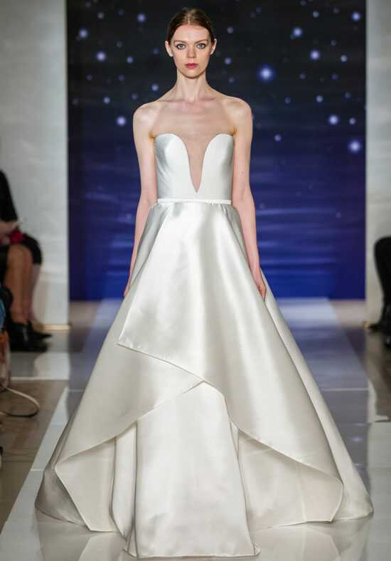 Reem Acra She's Forever Ball Gown Wedding Dress