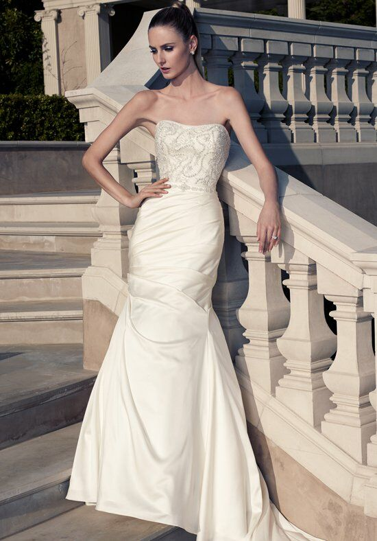 Casablanca Bridal 2097 Mermaid Wedding Dress
