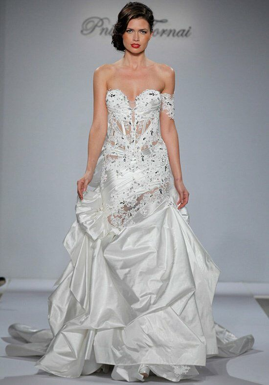 Pnina Tornai for Kleinfeld 4344 A-Line Wedding Dress