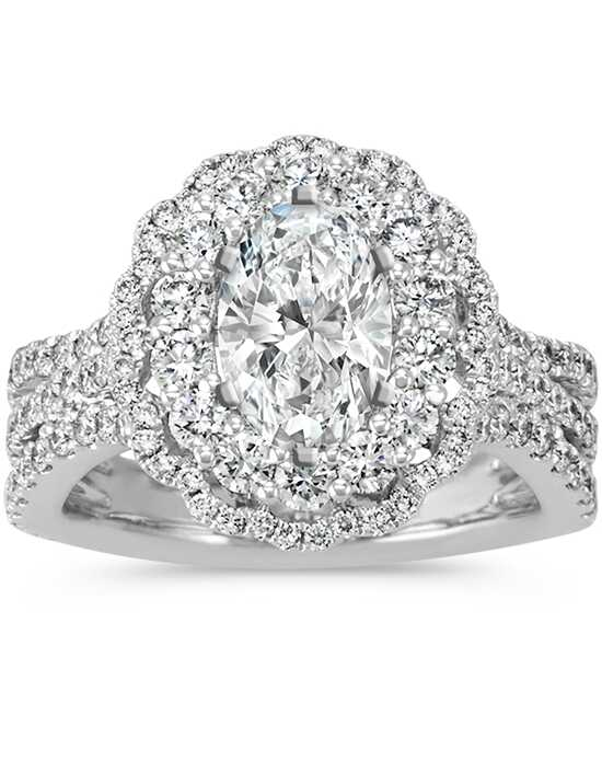 Shane Co. Glamorous Oval Cut Engagement Ring