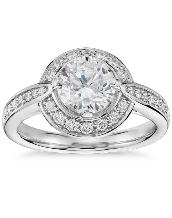 Colin Cowie Round Cut Engagement Ring