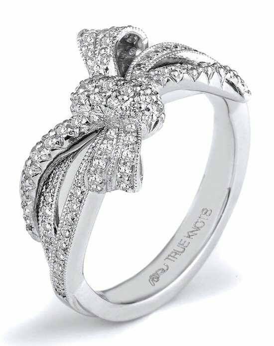 TRUE KNOTS THE KNOT COLLECTION K3180 Palladium,Platinum,White Gold Wedding Ring