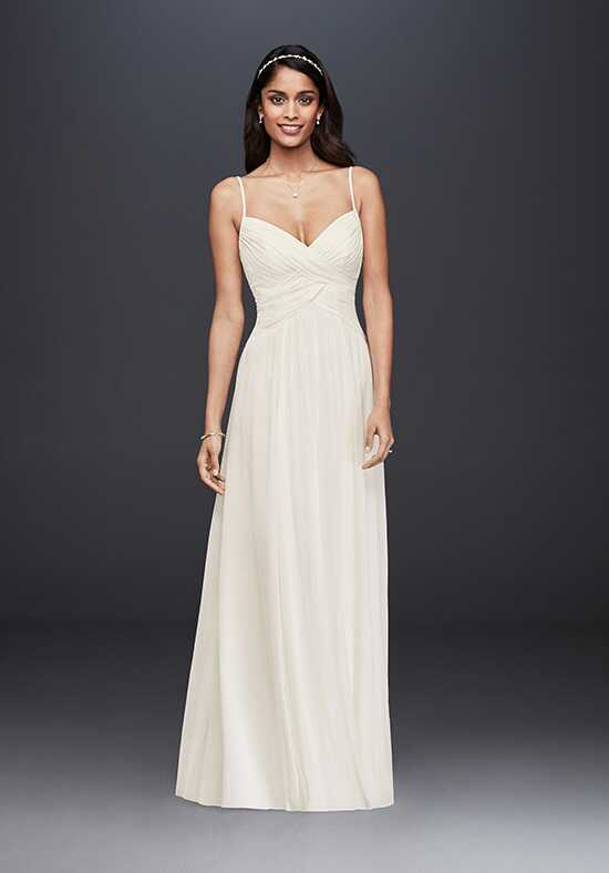 David's Bridal David's Bridal Collection Style WG3856 A-Line Wedding Dress
