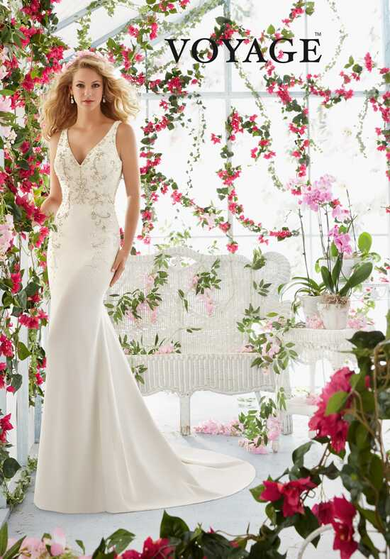 Morilee by Madeline Gardner/Voyage 6811 Sheath Wedding Dress