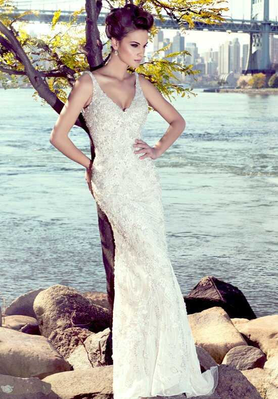 Stephen Yearick KSY84 Sheath Wedding Dress