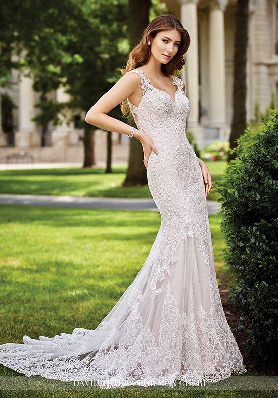 David Tutera For Mon Cheri 117273 Sonal Sheath Wedding Dress
