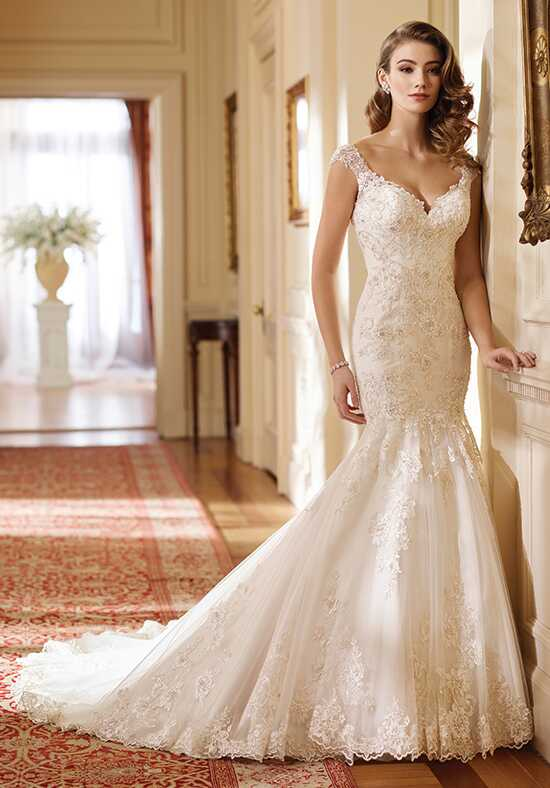 David Tutera for Mon Cheri 217219 Hazel Mermaid Wedding Dress
