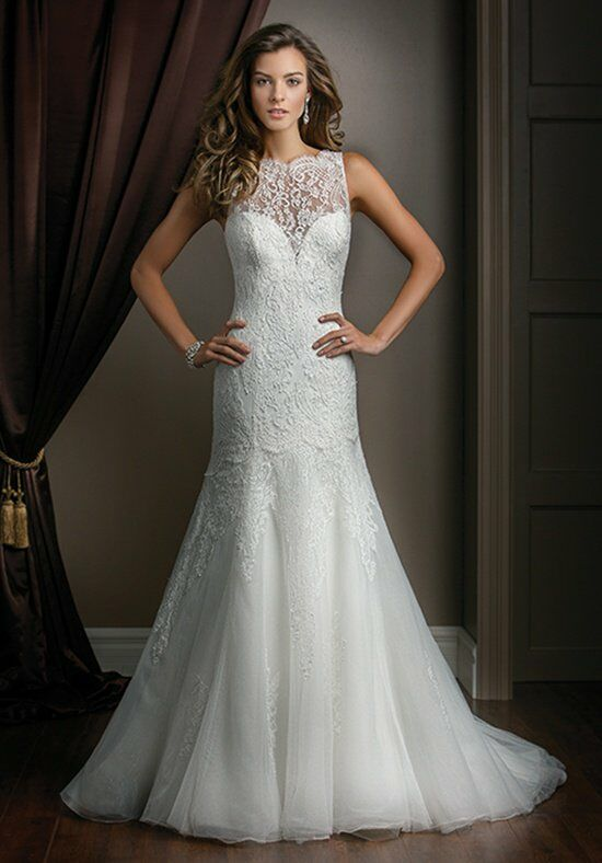 Jasmine couture t172015 wedding dress the knot for How do you preserve a wedding dress