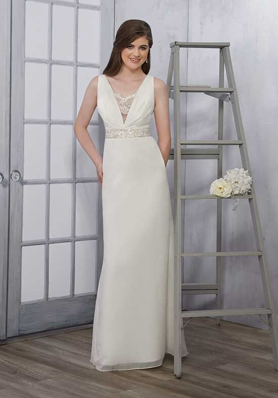 1 Wedding by Mary's Bridal 2684 Sheath Wedding Dress