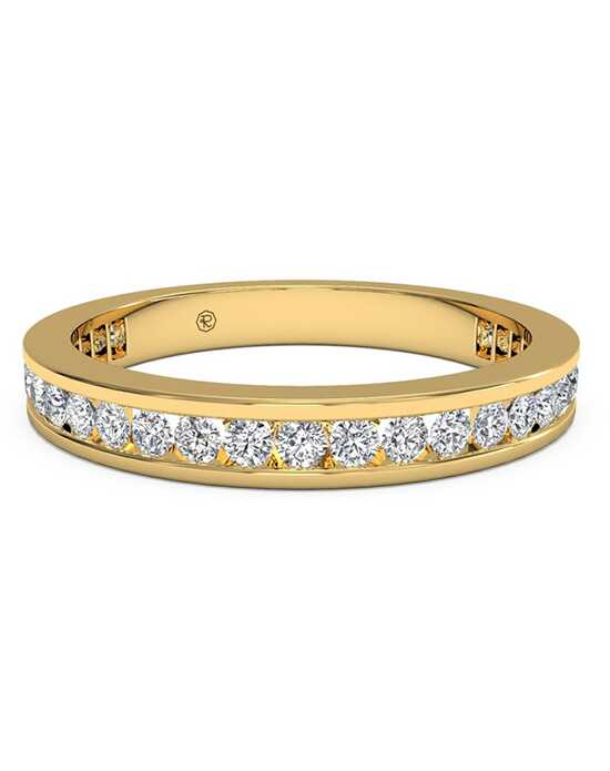 Ritani Women's Channel-Set Diamond Eternity Wedding Ring - in 18kt Yellow Gold - (0.55 CTW) Gold Wedding Ring
