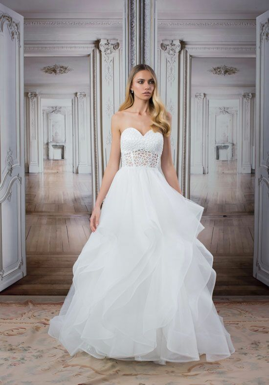 Love by pnina tornai for kleinfeld 14422 wedding dress the knot love by pnina tornai for kleinfeld 14422 a line wedding dress junglespirit