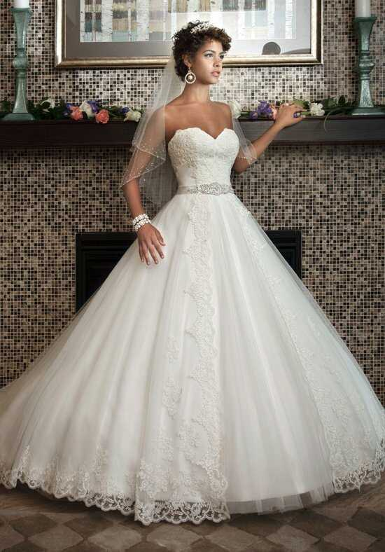 1 Wedding by Mary's Bridal 6218 Ball Gown Wedding Dress